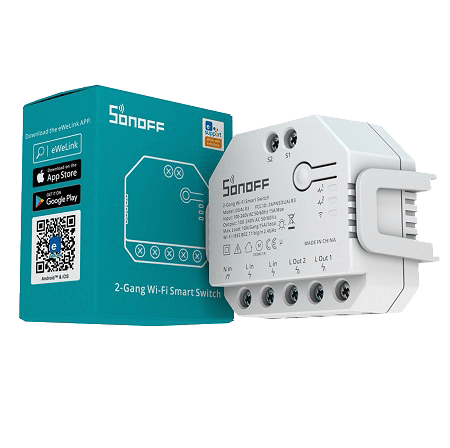 Sonoff DualR3 Dual Relay Two Way Power Metering Smart Switch-1