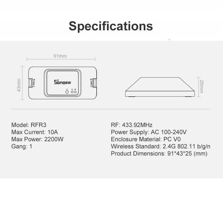 SONOFF-RFR3-DIY-wifi-remote-smart-RF