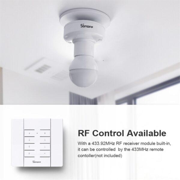 Sonoff Фасунга RF + WIFI безжично управление – Е27 крушки (всички стандартни) - Sonoff-Slampher-Led-Bulb-E27_2