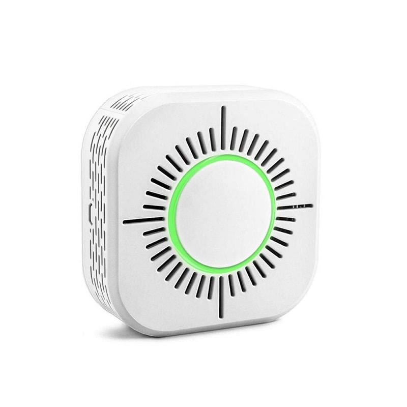 Безжичен детектор на дим + аларма – 433MHz – съвместим със Sonoff Bridge - Wireless Smoke Detector Fire Security Alarm Protection-433MHz