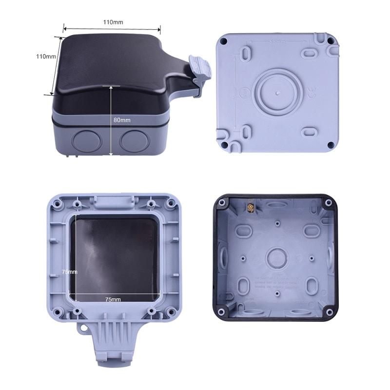 Smart Home - IP66 водоустойчива кутия за защита на открит външен контакт   ключ - ip66-waterproof-box-for-protection-of-open-external-contact_13