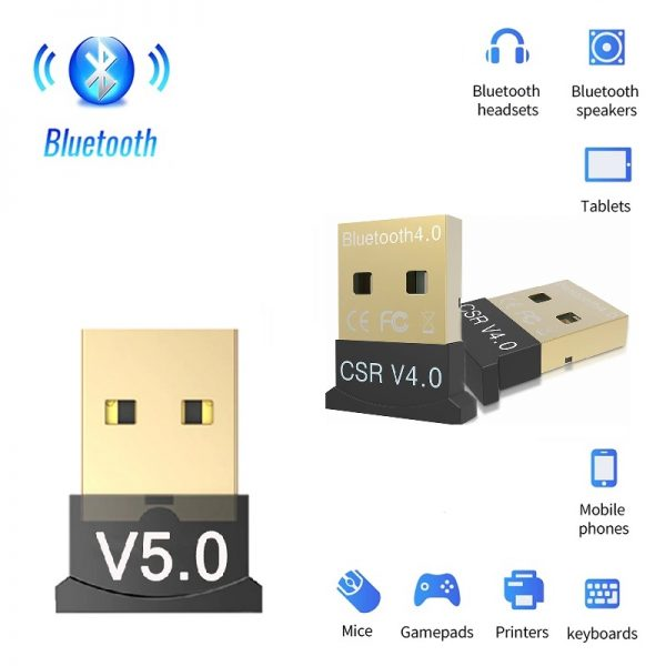 USB Bluetooth 5 | 4 адаптер - V5 | V4 - usb-bluetooth-5-0-4-0-adapter-v5-0-v4-0