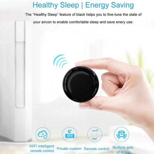 WiFi универсално IR дистанционно управление 360° – Tuya | Smart Life - wifi-ir-universal-remote-controller-smart-life