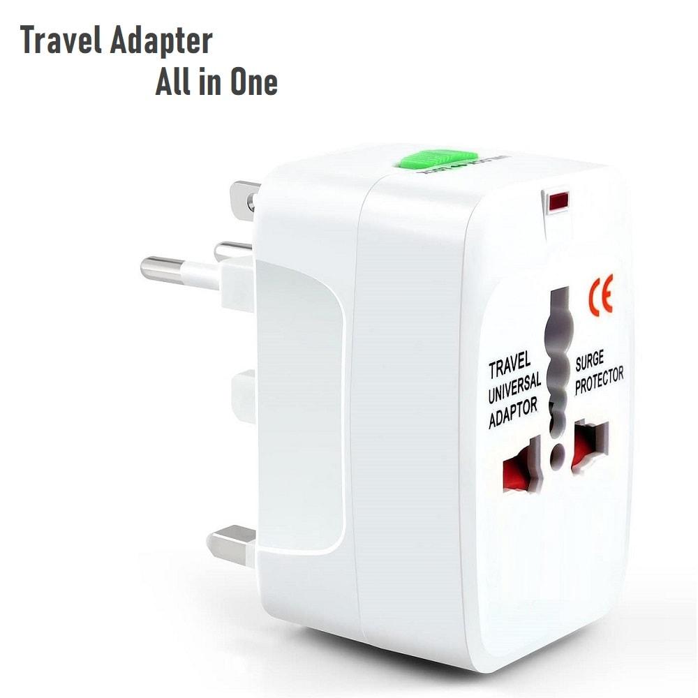 Универсален адаптер за пътуване за ЕС   САЩ   UK - над 150 страни по света + 2 USB изхода - All-in-one-EU-UK-US-AU-Universal-Travel-adapter-2-USB-4