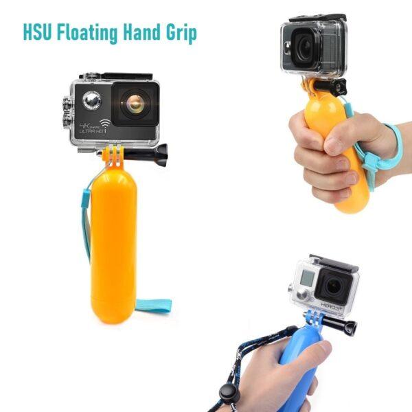 HSU Floating Hand Grip Handle - Непотъваща Плувка дръжка (ръкохватка) | GoPro | Xiaomi | GARMIN ...- floating-hand-grip-handle-gopro-xiaomi-garmin